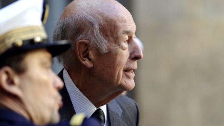Valérie Giscard d'Estaing (en septembre 2011) (MIGUEL MEDINA / POOL / AFP)