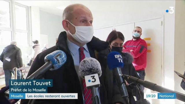Covid-19 : en Moselle, durement frappée par le variant sud-africain, les écoles vont rester ouvertes