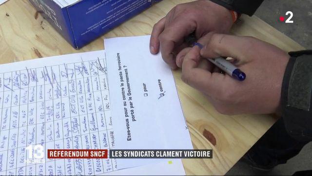 Référendum SNCF : les syndicats clament victoire