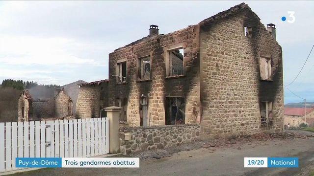 Puy-de-Dôme : une intervention tourne au drame, trois gendarmes abattus