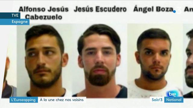 """Eurozapping : colère en Espagne après la condamnation de """"la Meute"""" pour abus sexuels"""
