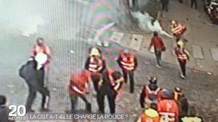 La préfecture de police de Paris diffuse des images de vidéosurveillance issue de la manifestation contre la loi Travail, mardi 13 juin 2016. (PREFECTURE DE POLICE DE PARIS / FRANCE 2)