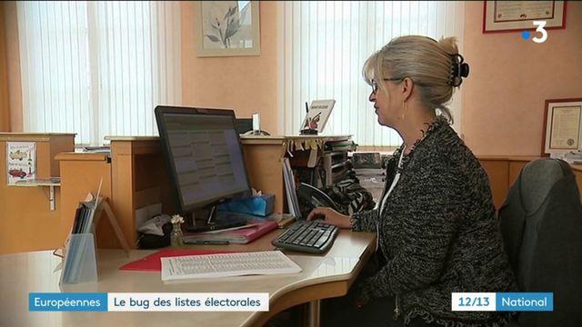 Européennes : des erreurs informatiques sur les listes électorales