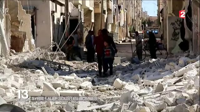 Syrie : Alep sous les bombes