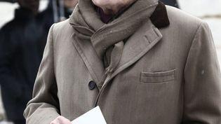 Pierre Bergé, le 21 janvier 2013 à Paris. (GUILLAUME BAPTISTE / AFP)