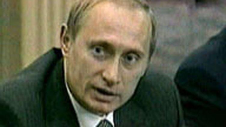 Le président russe Vladimir Poutine (© France 2)
