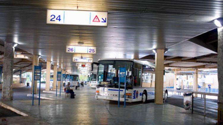 Sur le réseau des bus, toutes les lignes étaient à l'arrêt dans la ville. (Getty Images (Libre de droits))