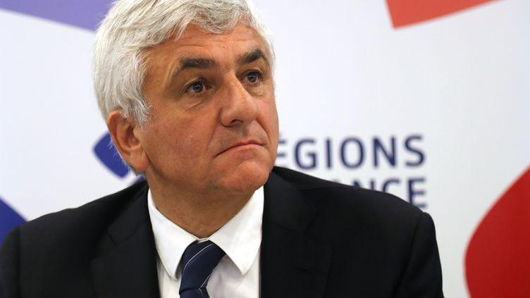 Le président de la région Normandie, Hervé Morin, en juillet 2018. (JACQUES DEMARTHON / AFP)