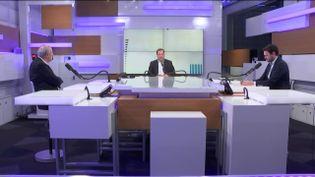 Les débats de l'éco du 2 février 2020 (Capture écran). (FRANCEINFO / RADIOFRANCE)