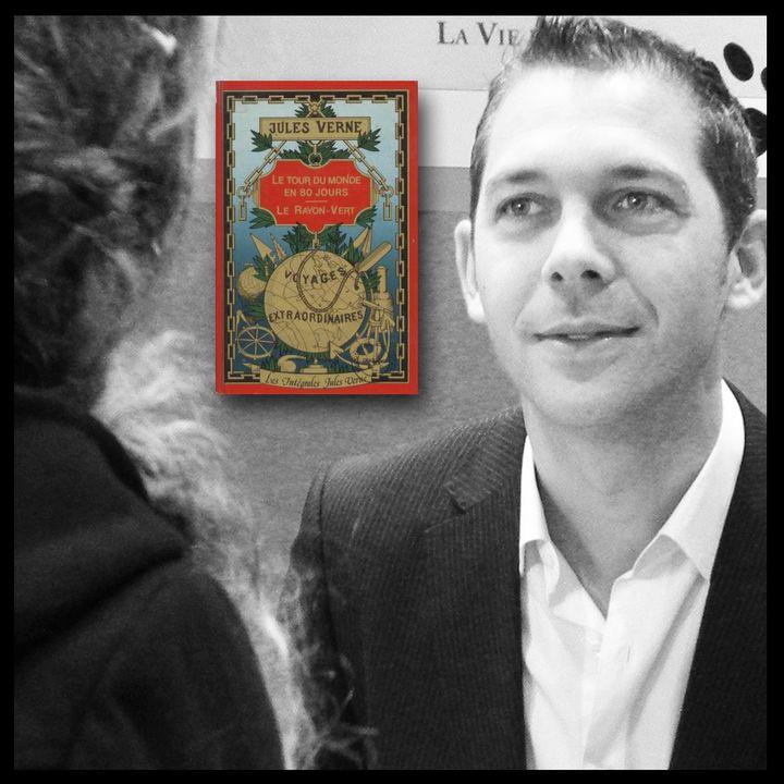 Romain Puértolas, écrivain  (Laurence Houot / Culturebox)