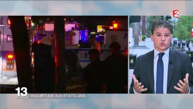 Explosions à New York et dans le New Jersey, attaque à l'arme blanche dans le Minnesota : l'inquiétude des autorités américaines