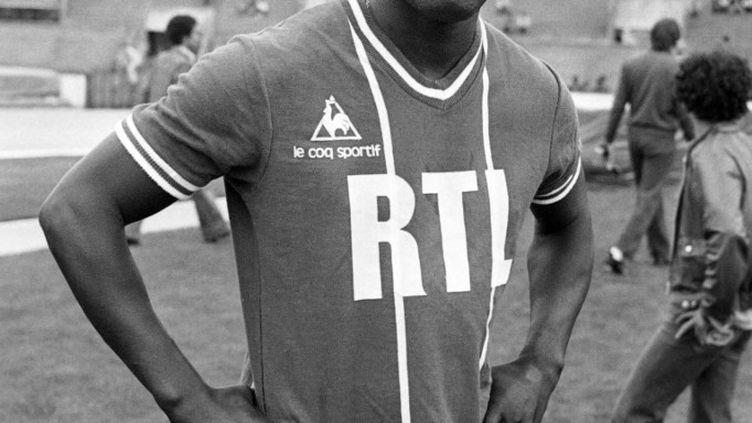 Jean-Pierre Adams a porté le maillot du Paris Saint-Germain entre 1977 et 1979. (AFP)