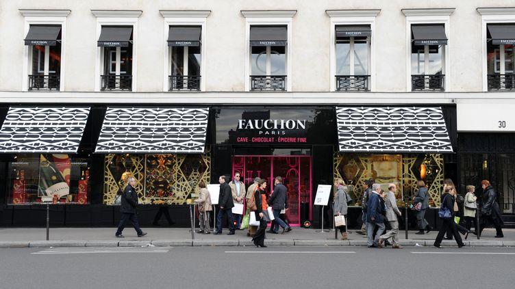 Un boutique Fauchon à Paris, le 27 octobre 2011. (MIGUEL MEDINA / AFP)