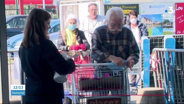 Alpes-Maritimes : des créneaux réservés aux seniors dans les supermarchés