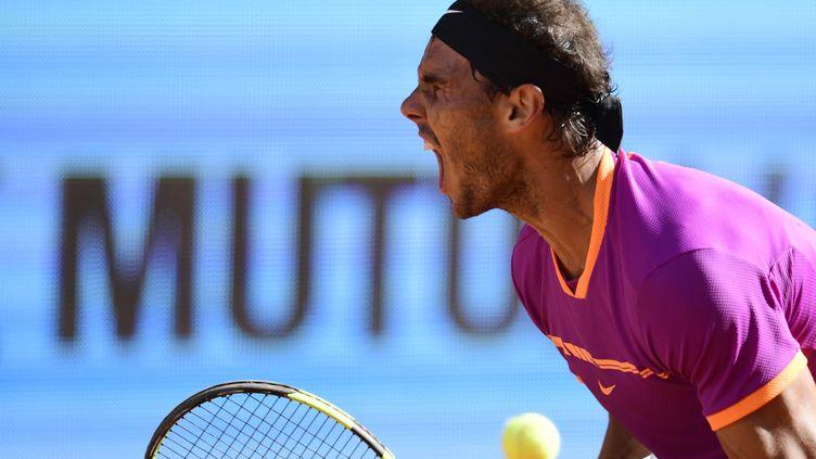 Le joueur majorquin, Rafael Nadal (JAVIER SORIANO / AFP)