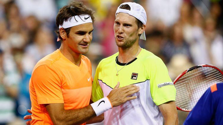 Roger Federer, tombeur d'Andreas Seppi, réussira-t-il à faire la passe de cinq à Indian Wells?  (JULIAN FINNEY / GETTY IMAGES NORTH AMERICA)