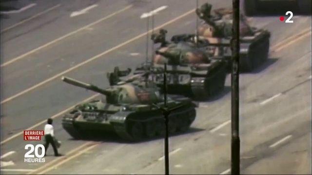 Photographie : l'homme qui a fait face aux tanks chinois
