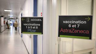 Vaccination au CHU de Limoges, en avril 2021. (THOMAS JOUHANNAUD / MAXPPP)