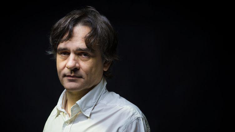 Riss, directeur de la rédaction de Charlie Hebdo (ici en juin 2015).  (MARTIN BUREAU / AFP)
