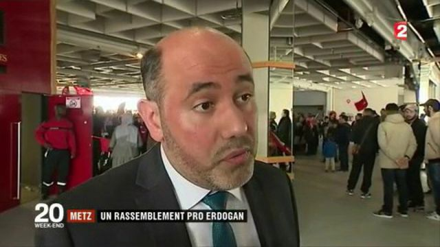 Metz : un rassemblement pro Erdogan