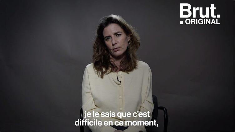 """VIDEO. Camille Kouchner : """"La libération de la parole, c'est super mais c'est le début du chemin"""" (BRUT)"""