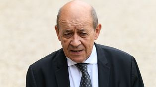 Jean-Yves Le Drian, ministre des Affaires étrangères (JULIEN MATTIA / NURPHOTO)