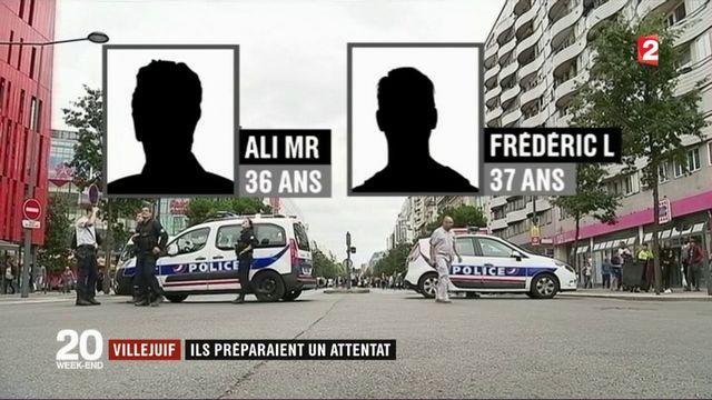 Villejuif : deux hommes préparaient un attentat