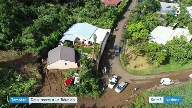 La Réunion : la tempête Fakir a fait deux morts