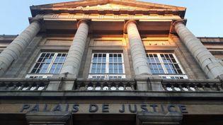 Le palais de justice de Saint-Brieuc(Côtes-d'Armor). (RADIO FRANCE / JOHAN MOISON)