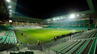 Le Stade Geoffroy Guichard de Saint-Etienne dont le club pourrait être vendu (AFP)