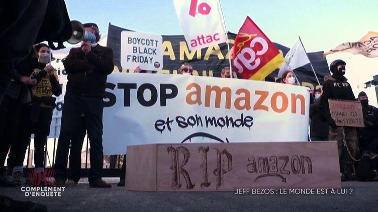Complément d'enquête. En France, Italie, Allemagne... comment Amazon surveille les syndicats (et espionne leurs responsables) (COMPLÉMENT D'ENQUÊTE/FRANCE 2)