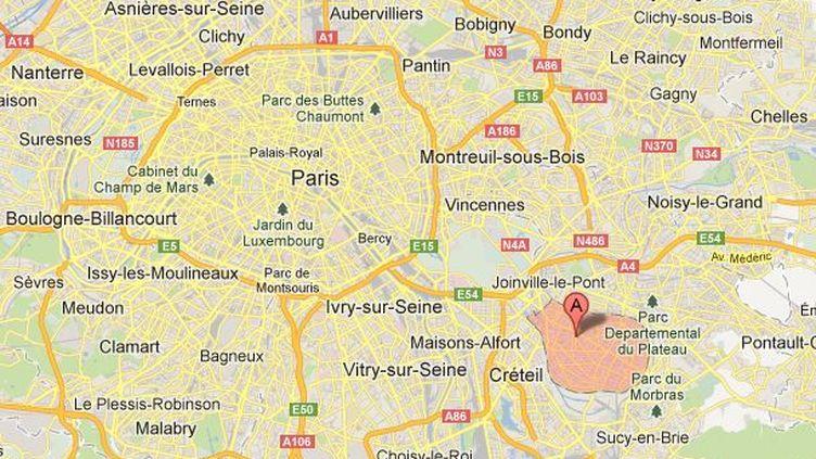 """L'adjointe (UMP) à l'Accueil de l'enfance de Saint-Maur-des-Fossés (Val-de-Marne) a demandé que les termes """"parent 1"""" et """"parent 2"""" soient retirés des formulaires périscolaires. ( GOOGLE MAPS / FRANCETV INFO )"""