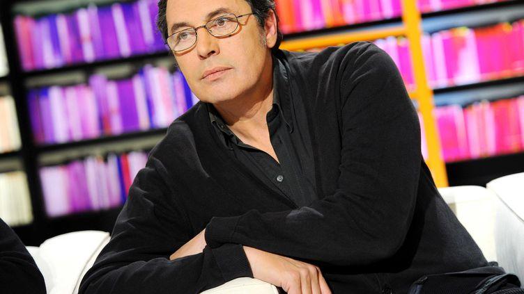 L'écrivainJean-Luc Seigle en février 2012 (BALTEL/SIPA)