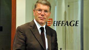 Pierre Berger, le directeur du groupe de BTP Eiffage, à Asnières (Hauts-de-Seine) le 7 novembre 2011. (stephane mortagne /VOIX DU NORD / MAXPPP)