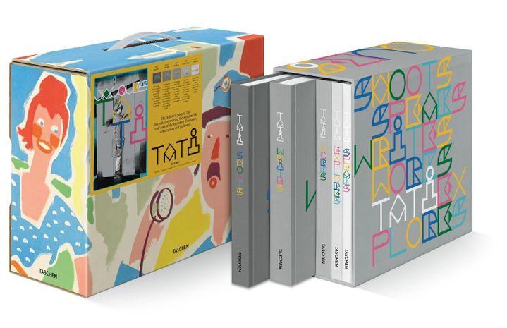 """Le coffret """"L'Intégrale Jacques Tati"""" aux édition Taschen. (TASCHEN)"""