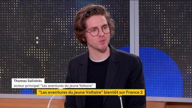 """""""Les aventures du jeune Voltaire"""" : le philosophe mis à l'honneur dans une série"""