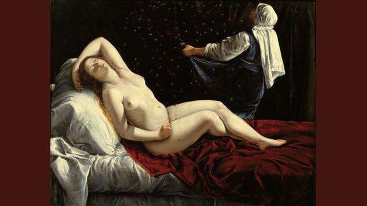 Artemisia Gentileschi, Danaë, c.1612  (Saint Louis, The Saint Louis Art Museum)