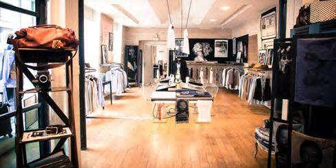 L'intérieur de la boutique parisienne Renoma, au RDC (2012)  (Archives Renoma)