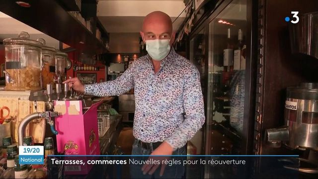 Déconfinement : de nouvelles règles sanitaires pour la réouverture des terrasses et commerces