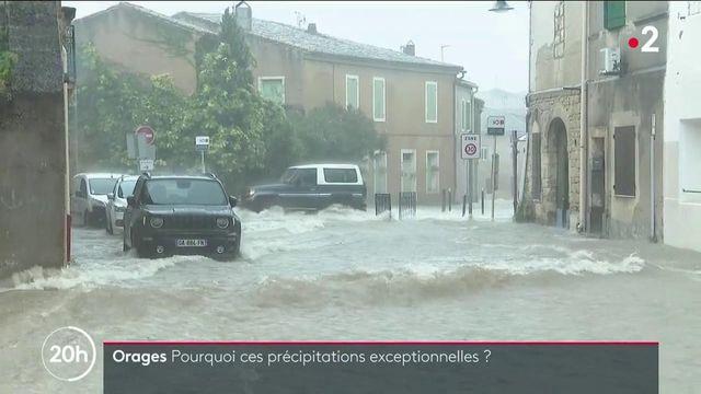 Gard : comment expliquer ces précipitations exceptionnelles ?
