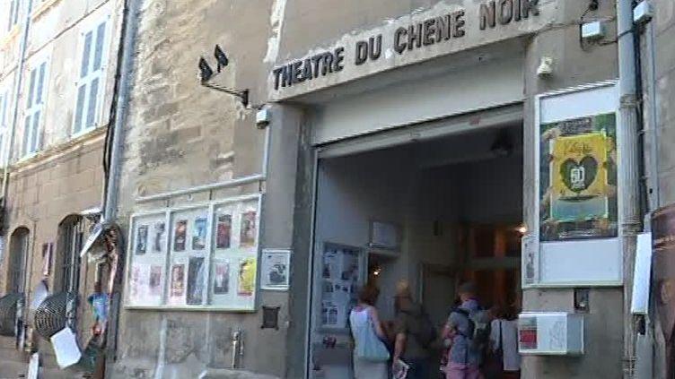 Théâtre du Chêne Noir à Avignon  (France 3 / Culturebox / capture d'écran)