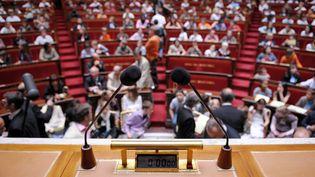 Le successeur de Claude Bartolone sera élu mardi 27 juin par les 577 nouveaux députés lors de la séance inaugurale. (MARTIN BUREAU / AFP)