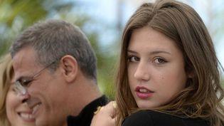 """Adèle Exarchopoulos, l'héroïne de """"La Vie d'Adèle""""  (Anne-Christine Poujoulat / AFP)"""
