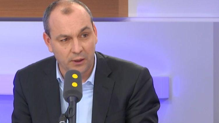 Laurent Berger, le 8 janvier 2020. (FRANCEINFO / RADIO FRANCE)
