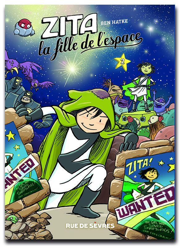 """Zita la fille de l'espace""  (Ben Hatke / Rue de Sèvres)"