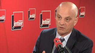 Jean-Michel Blanquer était l'invité de France Inter mercredi 16 octobre 2019. (FRANCE INTER / RADIO FRANCE)