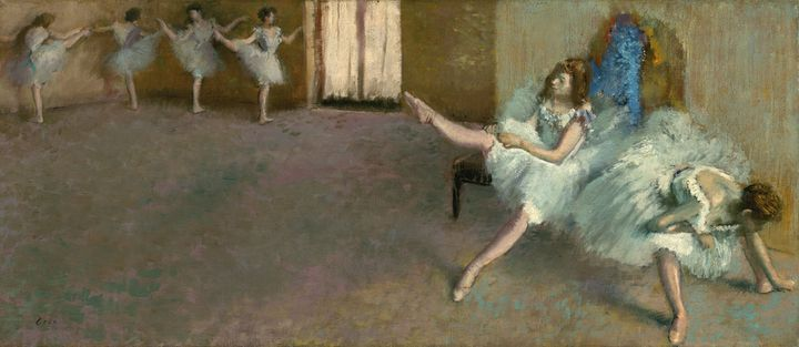 "Edgar Degas, ""Le foyer de la danse"", 1890 -1892, Washington, National Gallery of Art (©Image Courtesy National Gallery of Art, Washington DC)"