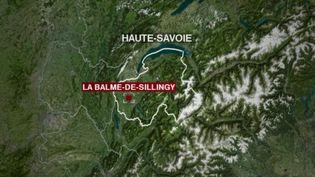 À La Balme-de-Sillingy, en Haute-Savoie, des mesures ont été mises en place pour éviter la propagation du Covid-19. (FRANCE 2)