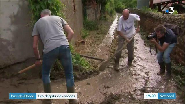 Puy-de-Dôme : dans le village de Sauvagnat-Sainte-Marthe, des maisons dévastées par une coulée de boue