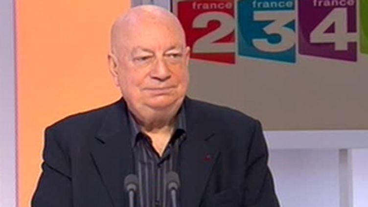 Hervé Bourges, ex-patron de TF1, France2, France 3 et du CSA. (© France)